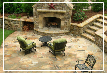 Stone Pavers Patio