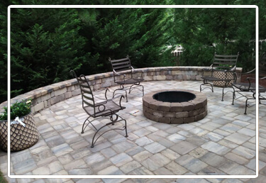 Paver Patio & Firepit